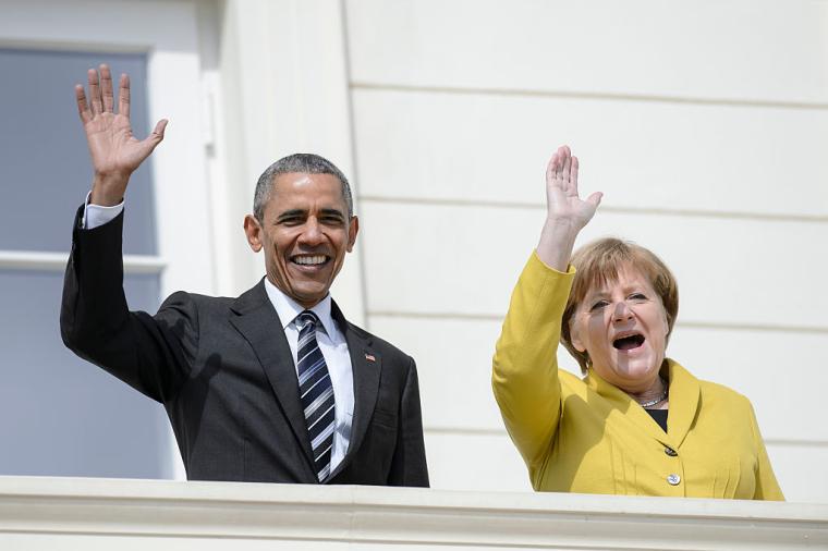 Барак Обама і Ангела Меркель, 2016 р.
