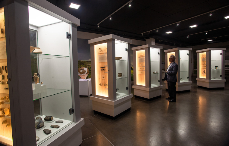 Экспозиция археологии