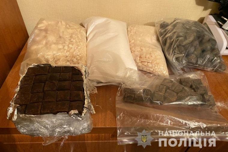 Стоимость наркотиков по ценам черного рынка — более 4 млн грн