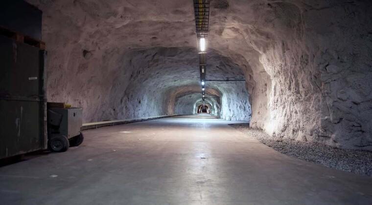 Тоннели базы Олавсверн