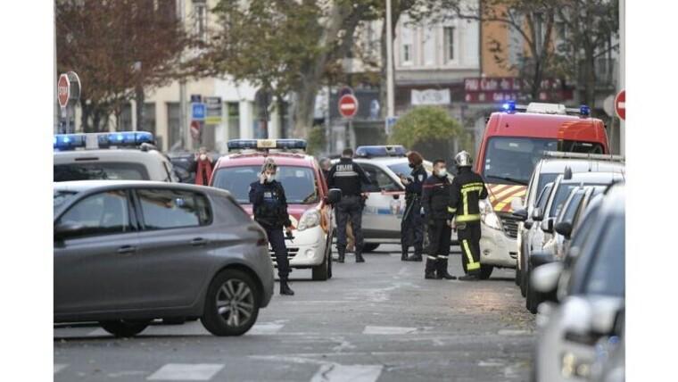 Місце стрільби у французькому Ліоні