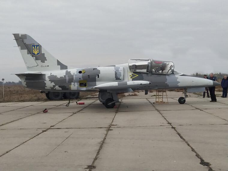 Модернизированный учебный самолет Л-39