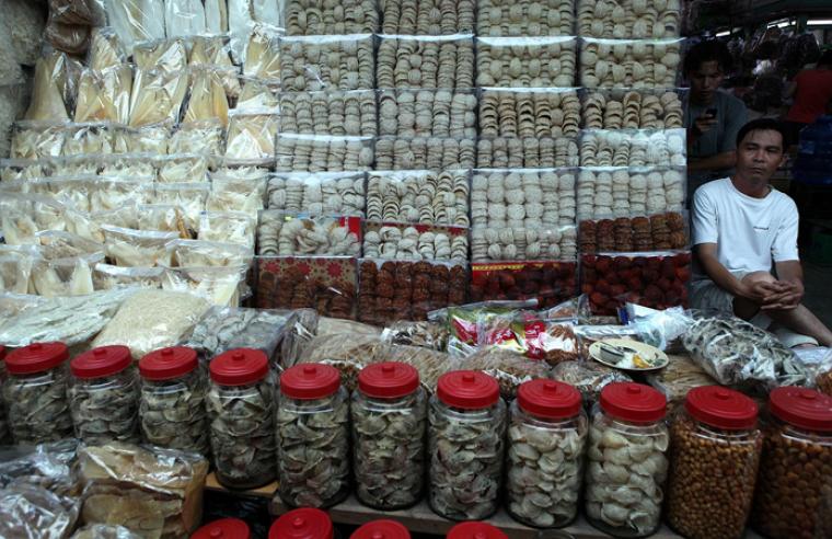 Їстівні пташині гнізда на азіатському ринку/agroportal.ua