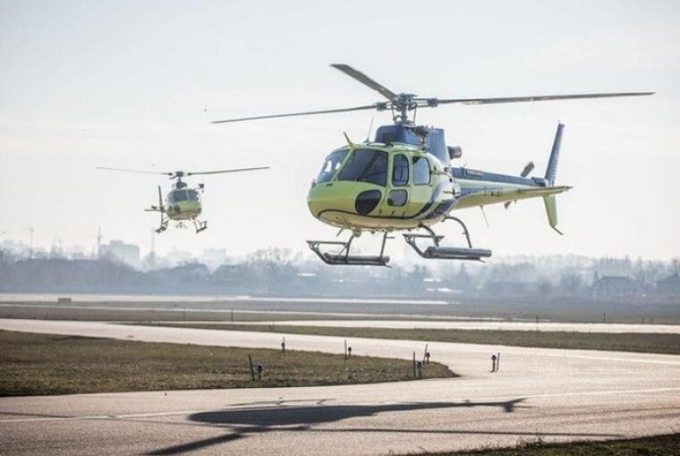 Вертолеты Airbus Н125