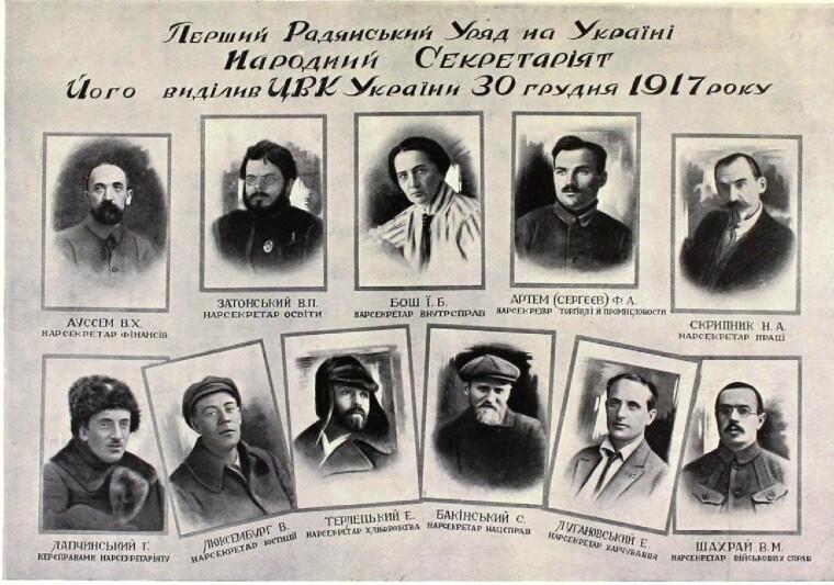 Народный секретариат — правительство советской УНР