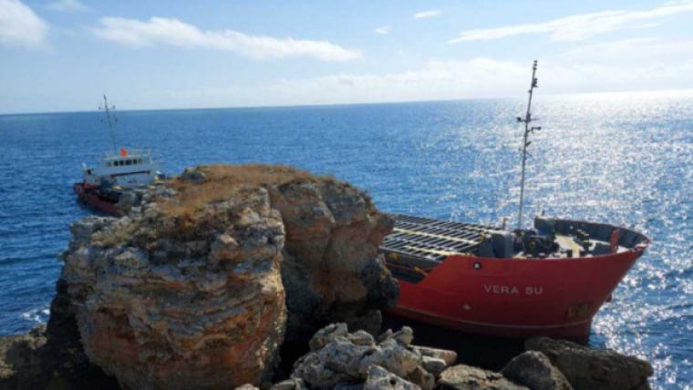На борту корабля знаходяться 3000 тонн карбаміду