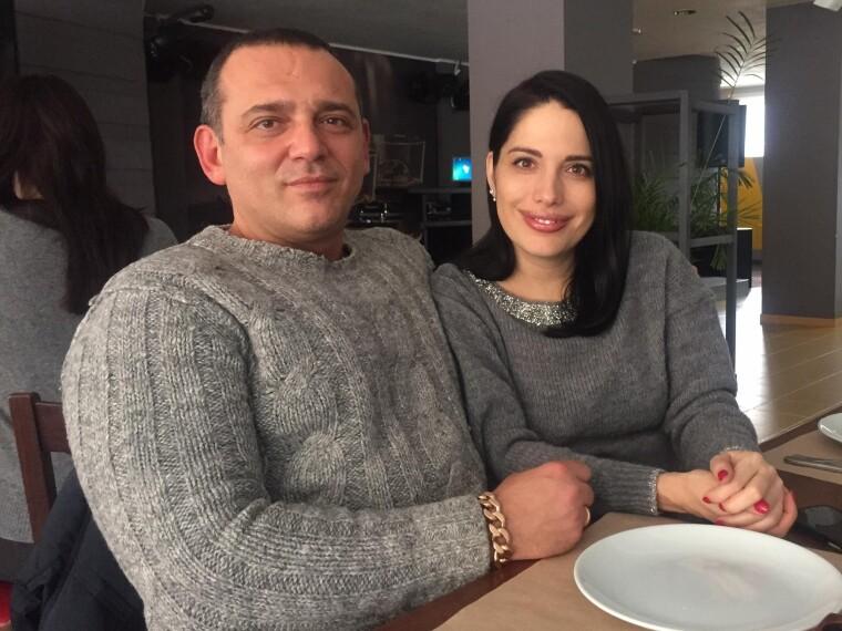 Максим Бужанский с женой Кисриевой Викторией
