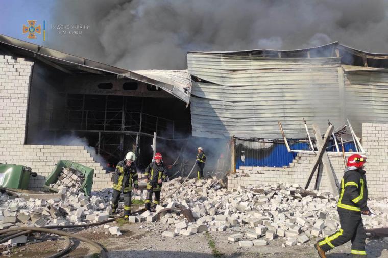 До гасіння залучили 45 рятувальників