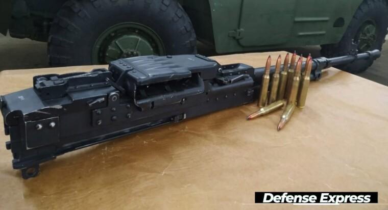 """Дослідний зразок великокаліберного кулемета КТ-12,7 від ПАТ """"Завод"""" Маяк """""""