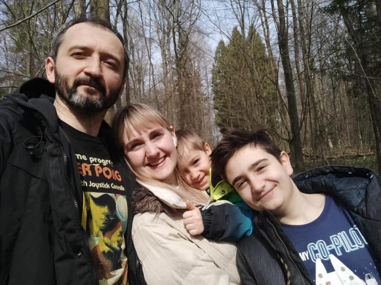 Наталья Пипа с семьей/facebook.com/NataliyaPipaOfficialPage