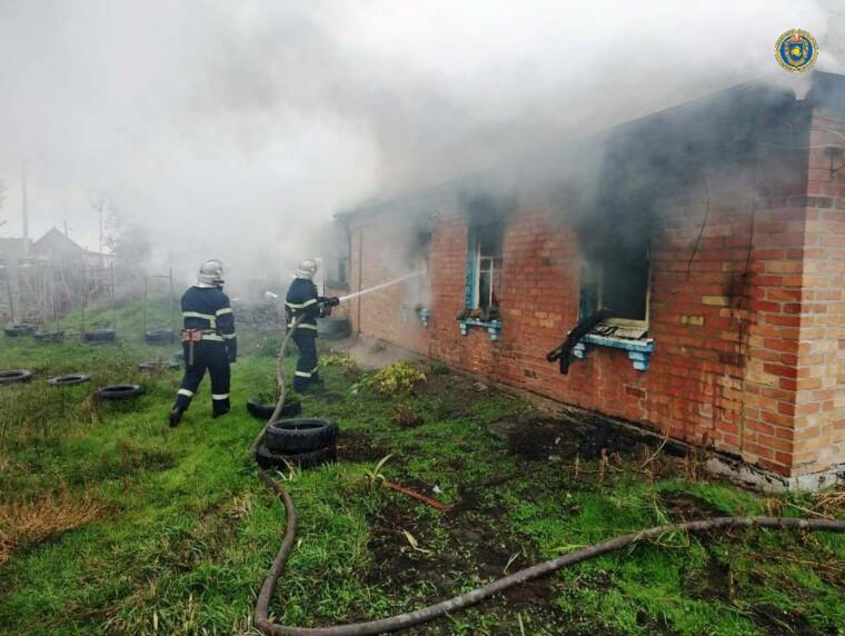 Пожежа у Черкаській області