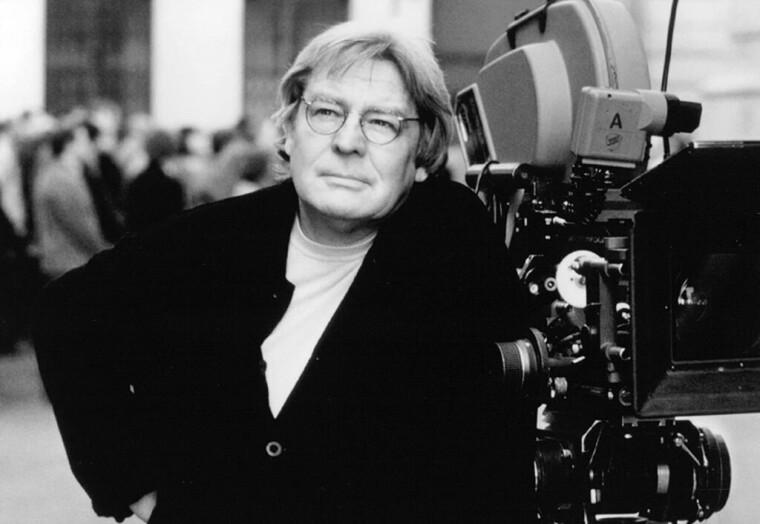 """Алан Паркер во время работы над фильмом """"Эвита"""", 1996 год"""