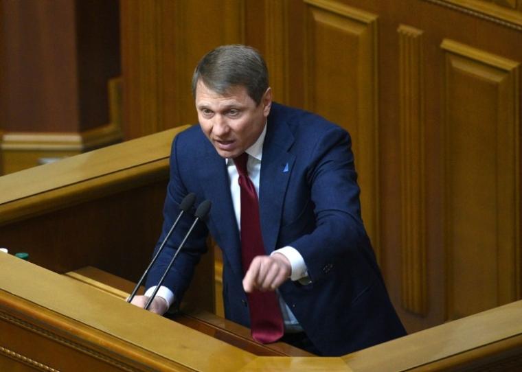 Сергей Шахов выступает на заседании Верховной Рады