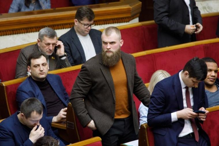 Артем Дмитрук в залі Верховної Ради