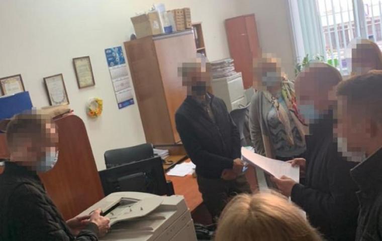 Обшук в одному з комунальних підприємств Києва