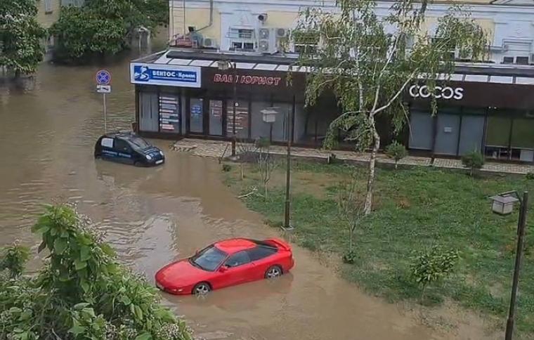 Затопленная Керчь