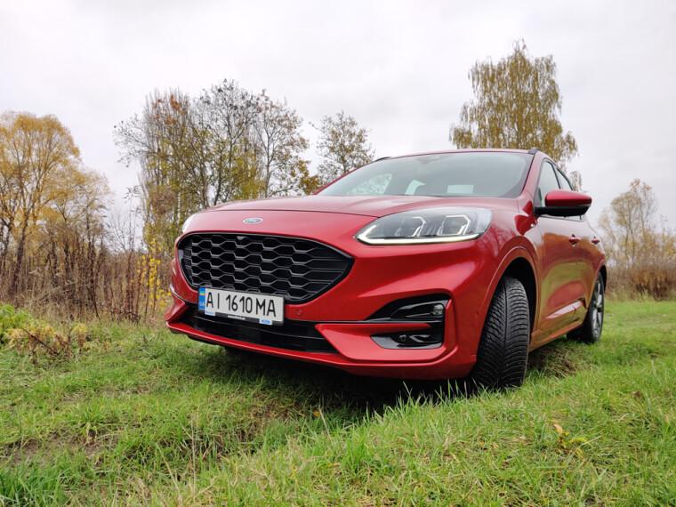 Внешний вид ford kuga