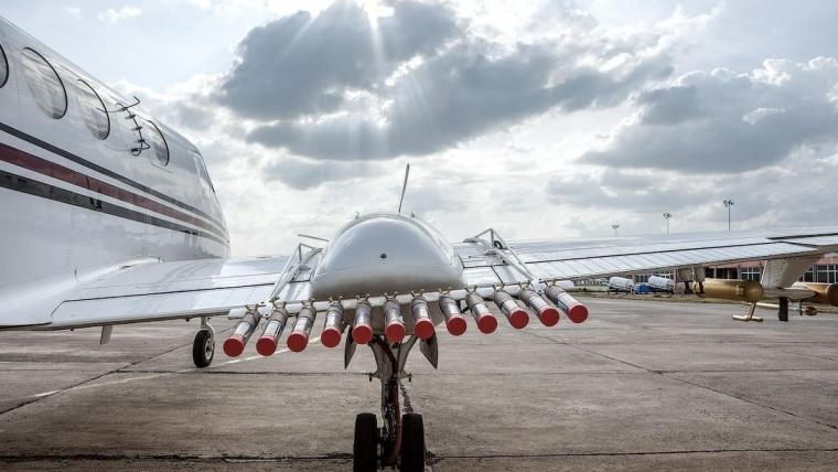 Нова технологія не формує хмари, а провокує випадання опадів з існуючих хмар/arabnews.com