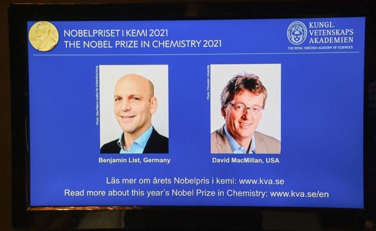 победители Нобелевской премии по химии 2021 года