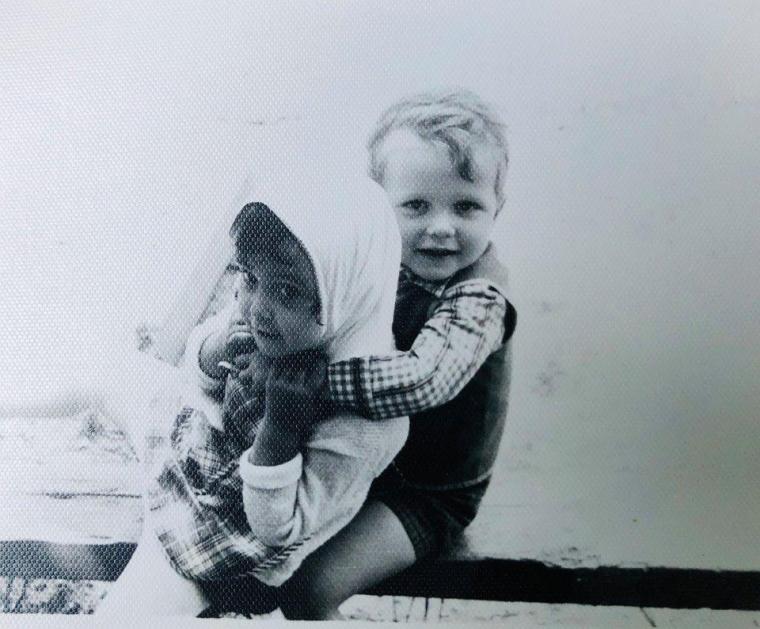 Иван Баканов в детстве