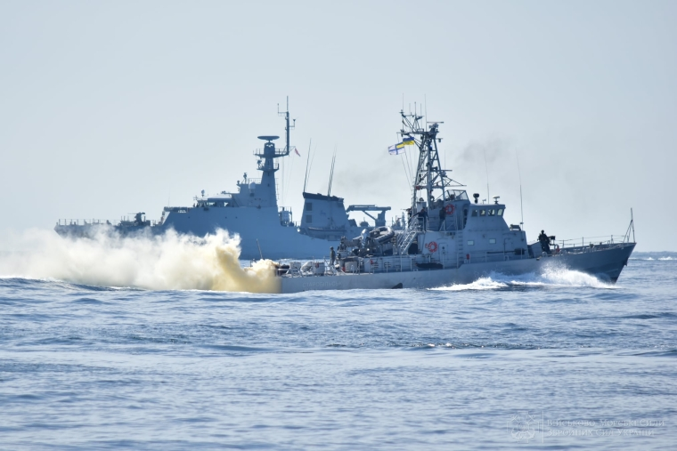"""Тренировка ВМС Украины и Великобритании """"PASSEX"""""""