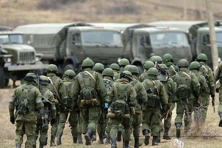 Россия продолжает накапливать войска на украинской границе