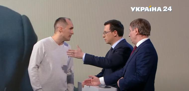 Юрій Бутусов і Євгеній Мураєв