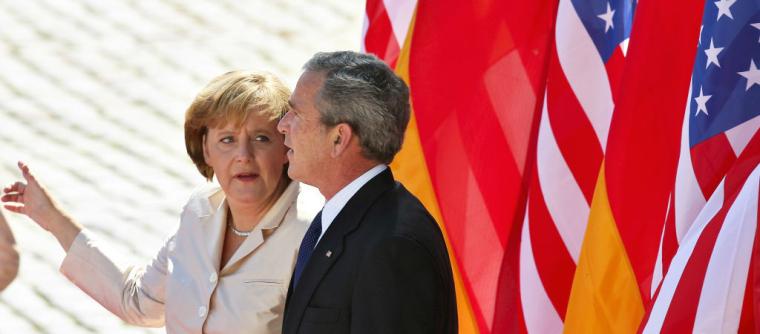 Ангела Меркель і Джордж Буш, 2006 р.