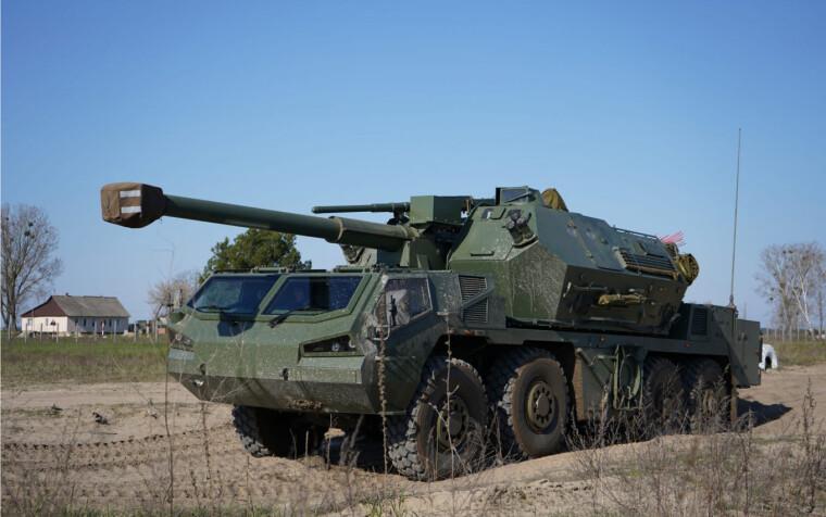 У Рівненській області проходять випробування САУ Dana-M2