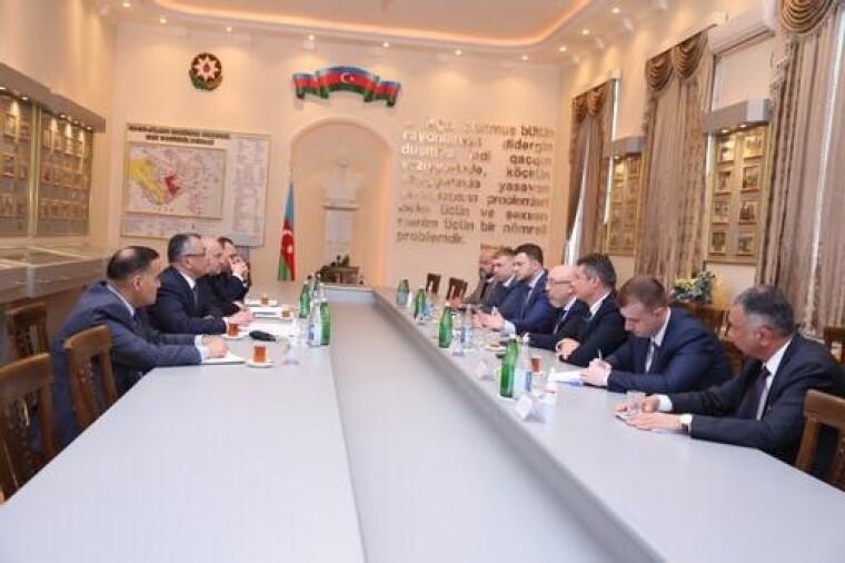 Встреча делегаций