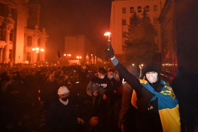 Мітинг на підтримку Сергія Стерненка на Банковій