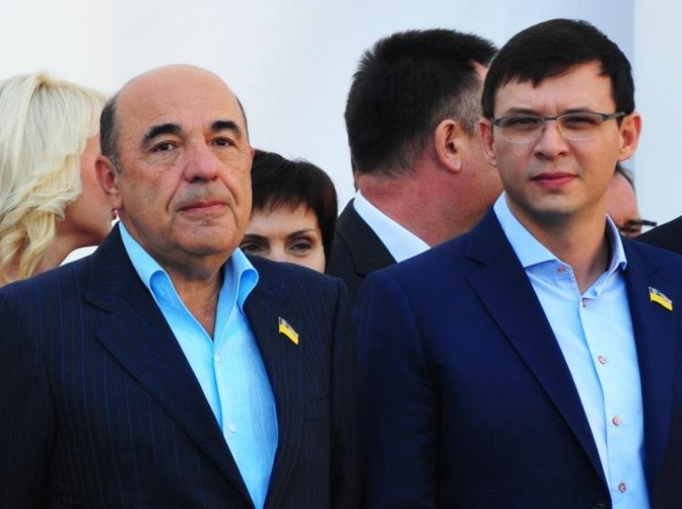 Вадим Рабинович і Євгеній Мураєв