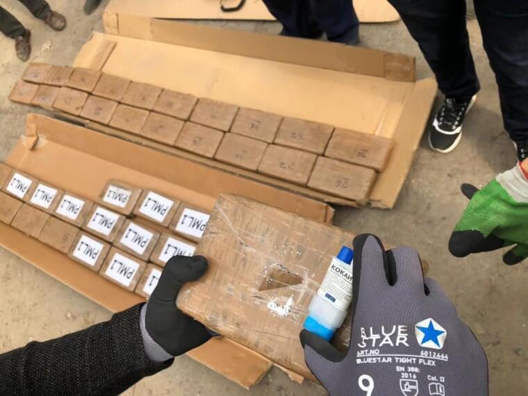 Партия кокаина из одесского порта имела маркировку наркосиндиката