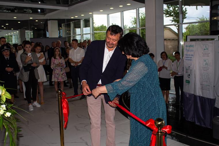 Открытие музея в Городке