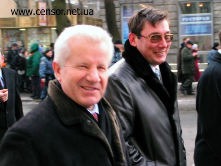 Александр Мороз и Юрий Луценко / censor.net.ua