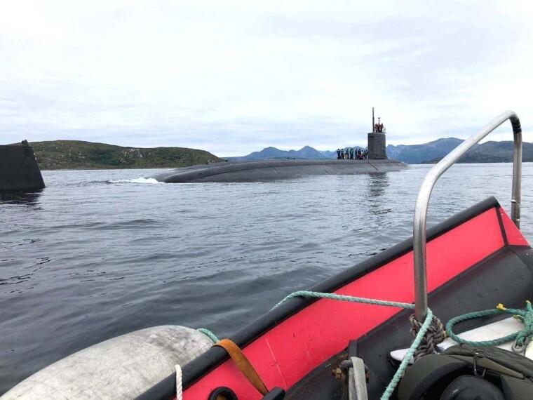 Подводная лодка США USS Seawolf (SSN-21)