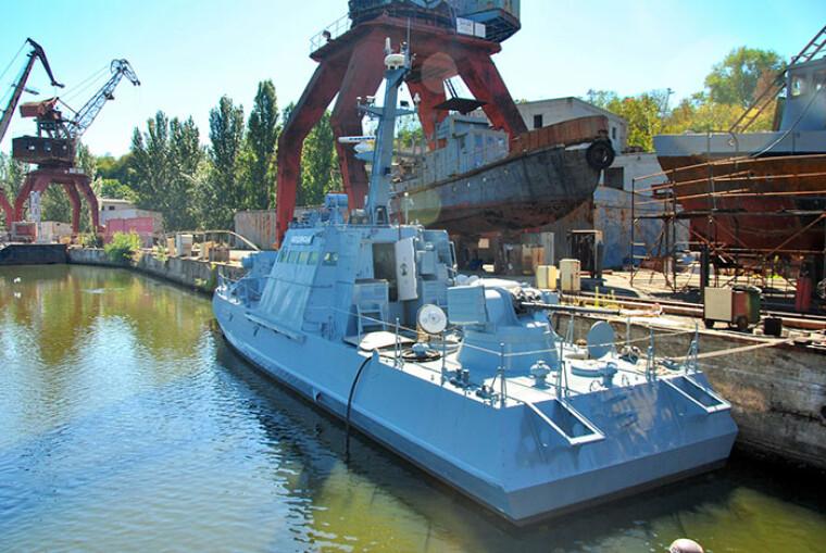 """Восстановленный катер """"Бердянск"""" / shipbuilding.mk.ua"""