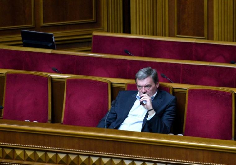 Юрий Гримчак в зале Верховной Рады, 2017