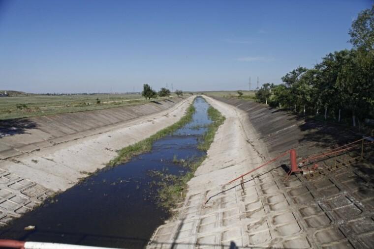 Перекрытый Северо-Крымский канал