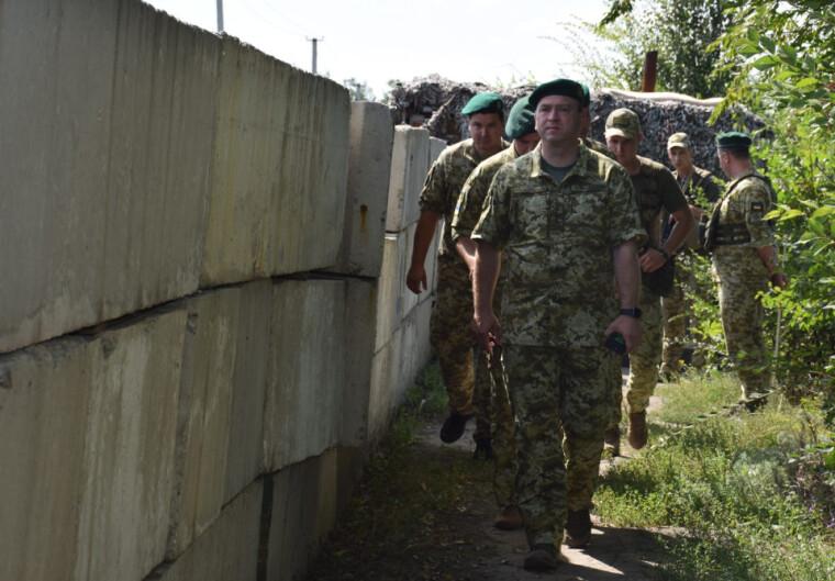Глава Государственной пограничной службы Украины Сергей Дейнеко
