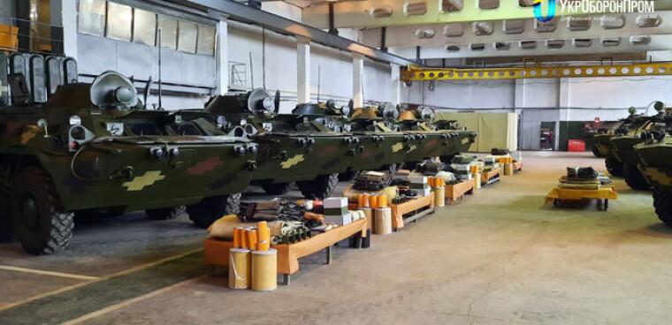Модернизированные БТР-80