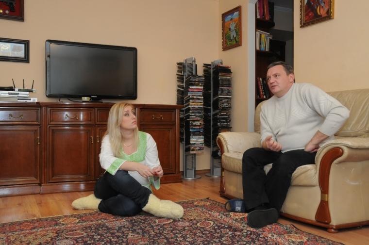 Юрий Гримчак с женой Юлией/gazeta.ua/Наталія Чубенко
