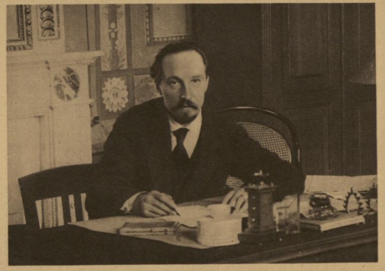 Микола Подвойський у 1918 р.