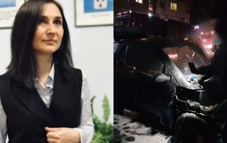 Депутату Людмиле Игнатенко сожгли автомобиль