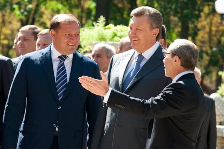 фото Добкина с Януковичем и Кернесем