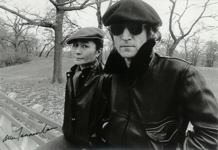 Джон и Йоко, 1980 год, Нью-Йорк / vintag.es
