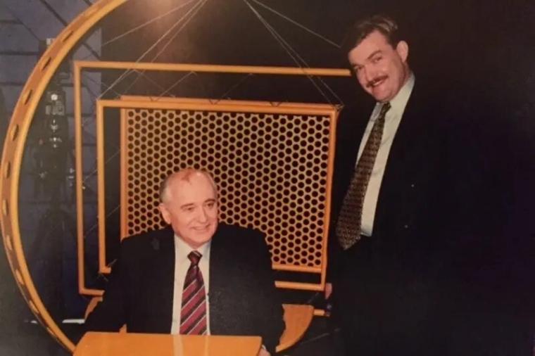 Євген Кисельов і Михайло Горбачов