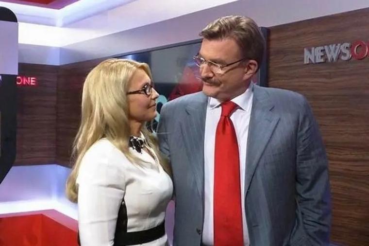 Юлія Тимошенко та Євген Кисельов