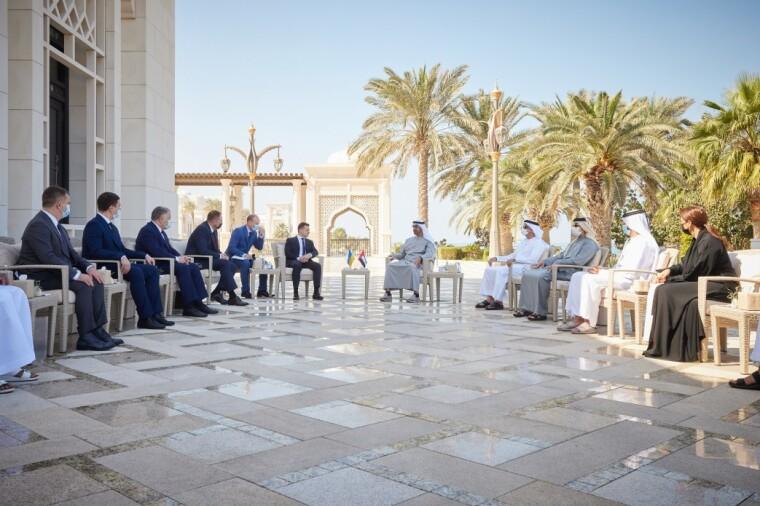 Встреча делегации из Украины и ОАЭ