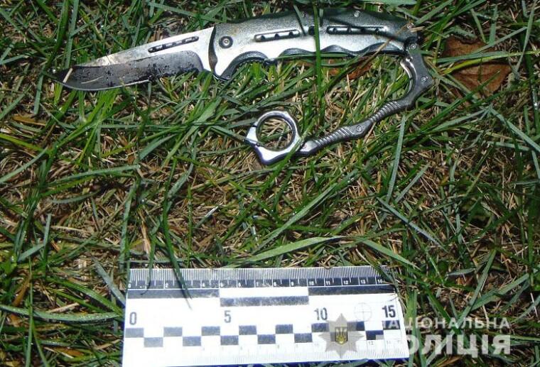 Нож, нашли правоохранители